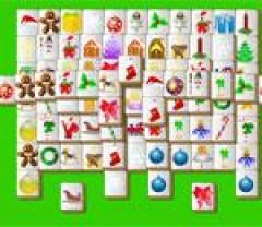 Коледен Маджонг Christmas Mahjong Маджонг Пъзели Тухли
