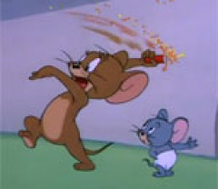 Tom and jerry safety second
