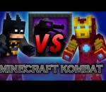 Minecraft Kombat - Ironman vs Batman