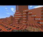 Minecraft 100000 TNT city