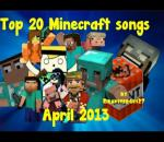 Top 20 Minecraft Songs of March 2013 (720pHD)