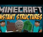 Minecraft 1.6.2 Mods | Instant Structures Mod Showcase