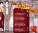Korean Wedding Couple