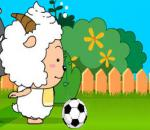 Lazy Goat and Big Big Wolf Soccer War