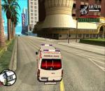 GTA San Andreas VW Crafter Turkish ambulance mod