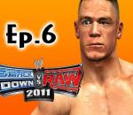 Smackdown Vs Raw 2011: John Cena Road to Wrestlemania Ep.6 (Gameplay/Commentary)