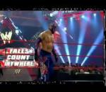 Xtreme Rules 2011Rey Mysterio vs. Cody Rhodes falls Count Anywhere Match Part 1