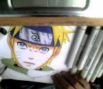 Coloring Naruto in copics