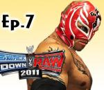 Smackdown Vs Raw 2011: Rey Mysterio Road to Wrestlemania Ep.7 (Gameplay/Commentary)