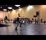 Jordyn Jones - Assisting Brian Friedman at Pulse Dance Convention