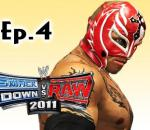 Smackdown Vs Raw 2011: Rey Mysterio Road to Wrestlemania Ep.4 (Gameplay/Commentary)