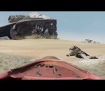 STAR WARS: THE FORCE AWAKENS - Virtual Jakku Speeder Tour