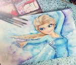 Elsa from Frozen- Painting