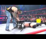 Jeff Hardy attacks RVD and Mr Anderson