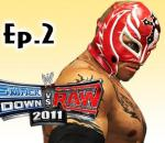 Smackdown Vs Raw 2011: Rey Mysterio Road to Wrestlemania Ep.2 (Gameplay/Commentary)