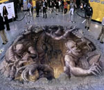 3D street art slideshow