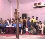 Indian Pole Gymnastics