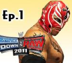 Smackdown Vs Raw 2011: Rey Mysterio Road to Wrestlemania Ep.1 (Gameplay/Commentary)