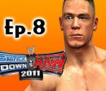 Smackdown Vs Raw 2011: John Cena Road to Wrestlemania Ep.8 (Gameplay/Commentary)