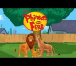 Phineas and ferb the lion king