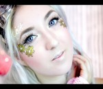 "Steampunk *INSPIRED* ""Gold & Gears"" Makeup TUTORIAL"
