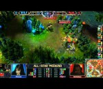 League of Legends NA vs EU game 1