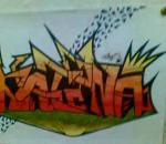 My graffiti on paper
