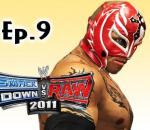 Smackdown Vs Raw 2011: Rey Mysterio Road to Wrestlemania Ep.9 (Gameplay/Commentary)