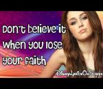 Miley Cyrus - Forgiveness And Love + Lyrics