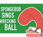 "Spongebob Sings ""Wrecking Ball"""
