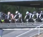 BMX Race Start Epic Fail