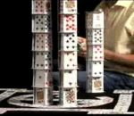 Champion cardstacker builds capitol with 22000 cards