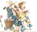 Time for Easter! (Vera the Mouse)