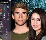 Miley Cyrus and Liam Hemsworth Famous Couple 2