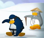 Club Penguin Never wake a sleeping sensei