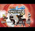 Naruto Shippuden Ultimate Ninja Heroes 3 - PSP - Naruto VS Konan VS Tobi VS Possessed Kabuto