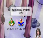 Selena Gomez and The Scene – A year without rain-club penguin version