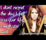 Miley Cyrus - See You In Another Life - Lyrics