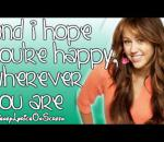 Miley Cyrus - I Hope You Find It