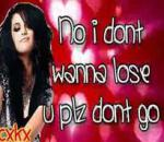 Selena Gomez - Take This Chance (lyrics) [new 2010 song preview Hd & Hq!!]