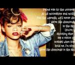 Rihanna- Diamonds (In The Sky) Lyric Video offical song