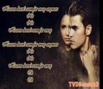 Ron Pope A Drop In The Ocean Lyrics The Vampire Diaries Version