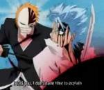 Bleach- Ichigo vs. Grimmjow and Byakuya