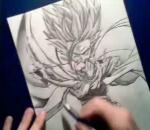 How to Draw SSJ2 Gohan - By GateBreaker1