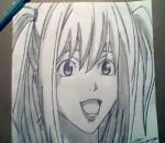 How to Draw Misa Amane - By GateBreaker1