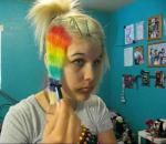 How to do Rainbow hair