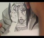 How To Draw Itachi Uchiha - By BankaiHollow12