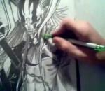 How To Draw Full Hollow Ichigo (Vasto Lorde) - By GateBreaker1