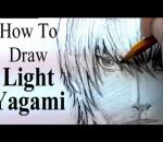How To Draw Light Yagami (from Death Note)