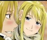 "Ed & Winry-Yui ""Love and truth""."
